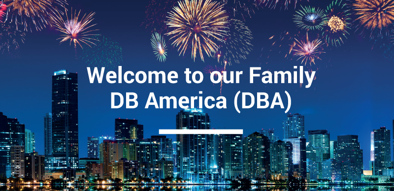 DB America has born!