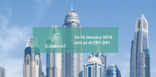 CABSAT and SALON DE RADIO: January 2018