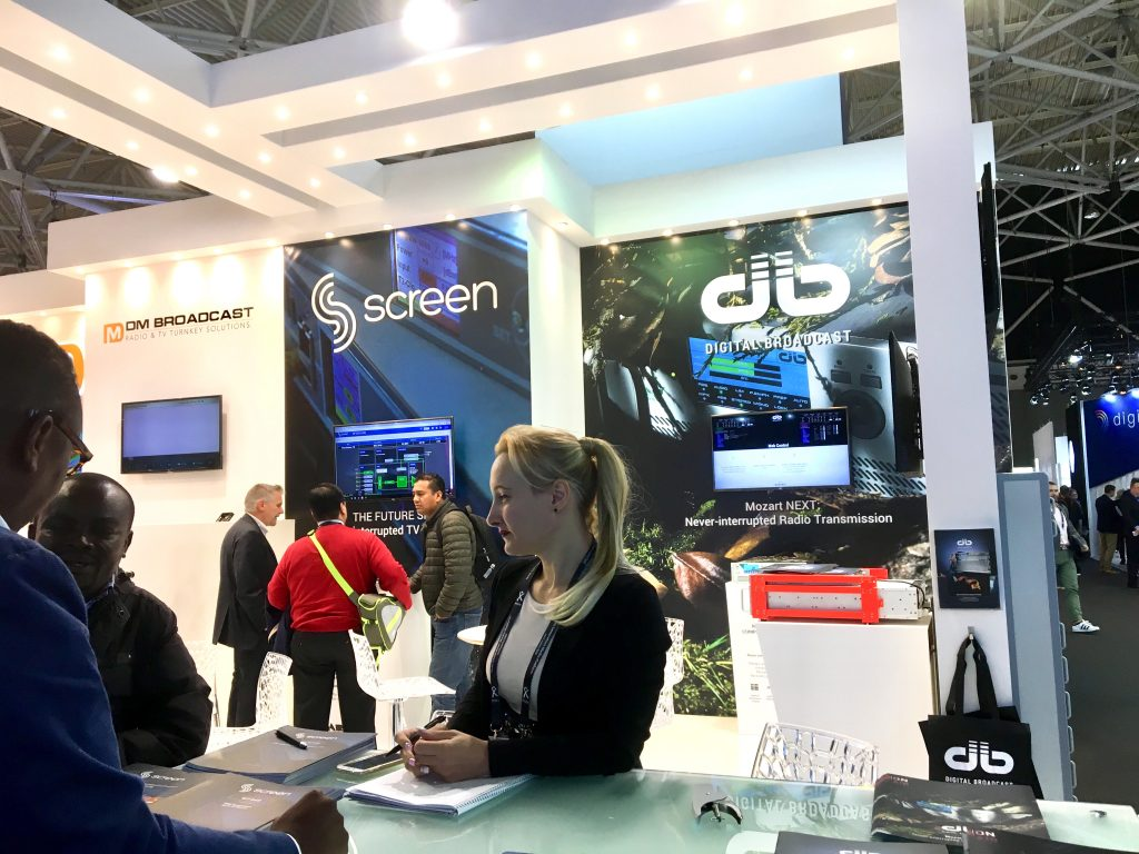 Screen e DB in fiera