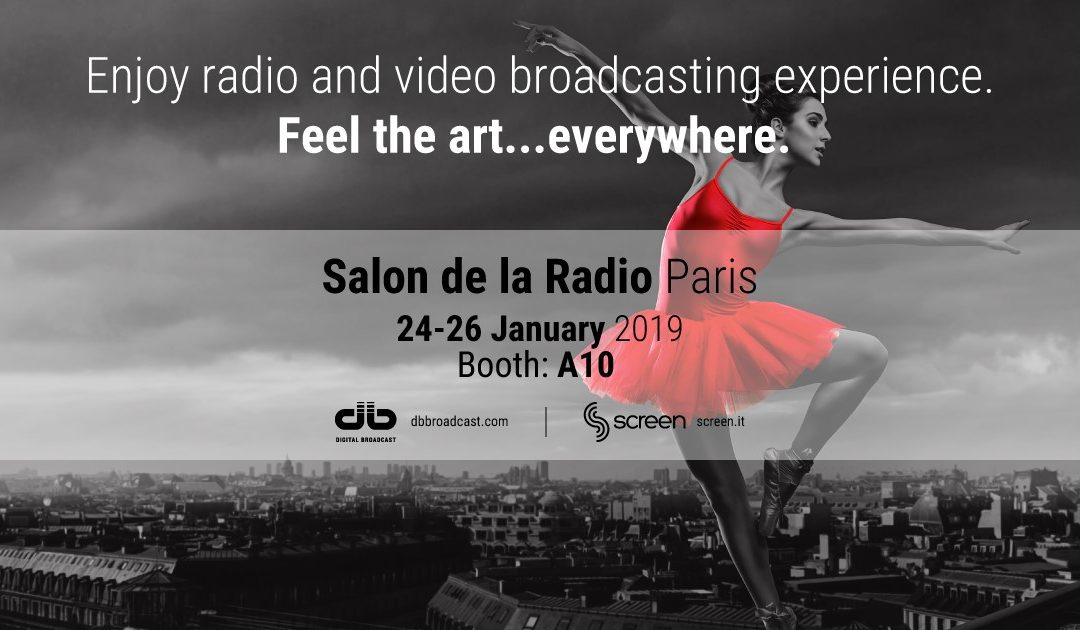 Salon de la Radio, Paris 24/26 January 2019