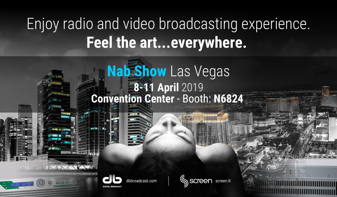 NAB Show 2019 Las Vegas 8/11 April Booth N6824
