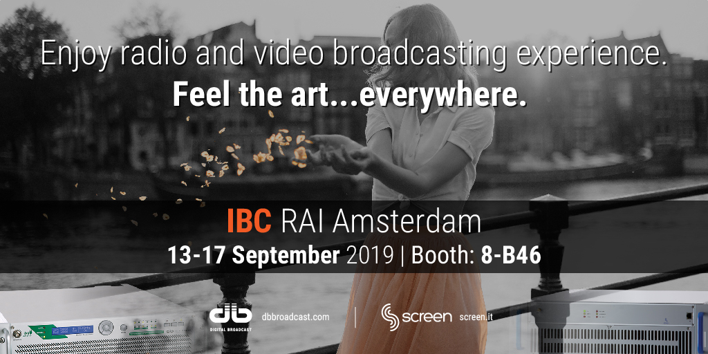 IBC 2019 Amsterdam 13/17 September