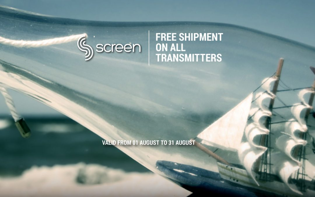 FREE SHIPMENT – AUGUST