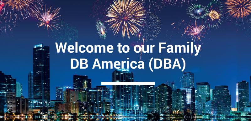 DB America has born!