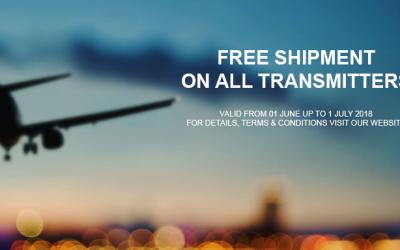FREE SHIPMENT – JUNE