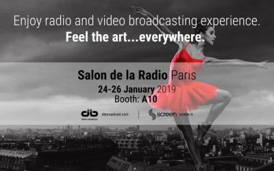 Salon de la Radio, Paris 24/26 January 2019