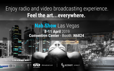 NAB Show 2019 Las Vegas 8/11 April Booth N6824