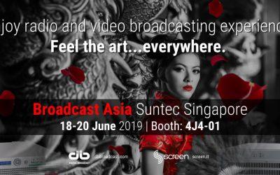 Broadcast Asia 2019 Singapore 18/20 June